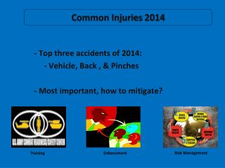 Common Injuries 2014