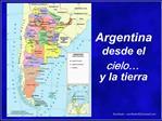Argentinadesdeelcielo