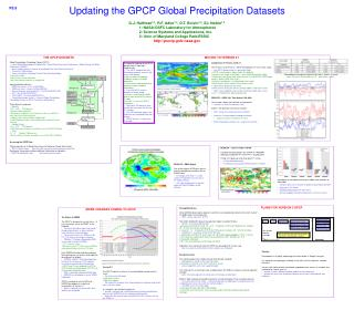Updating the GPCP Global Precipitation Datasets