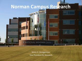 Norman Campus Research