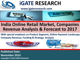 India Online Retail Market and Company Analysis