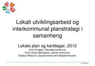 Lokalt utviklingsarbeid og interkommunal planstrategi i samanheng