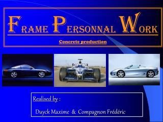 F rame p ersonnal w ork   Concrete production