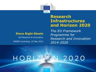 Research Infrastructures and Horizon 2020