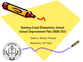 Running Creek Elementary School School Improvement Plan 2008-2011