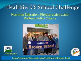 Healthier US School Challenge