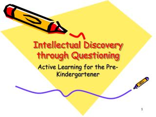 Intellectual Discovery through Questioning