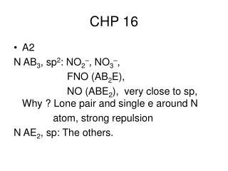 CHP 16