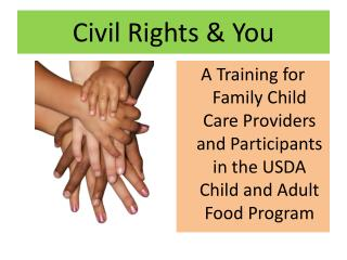 Civil Rights & You