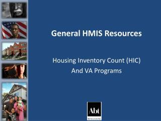 General HMIS Resources