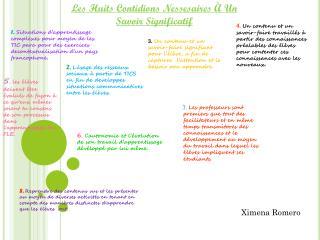 6 .  l'autonomie  et  l'évolution  de son  travail d'apprentissage dévéloppé  par lui  même .