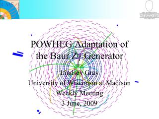 POWHEG Adaptation of  the Baur Zγ Generator