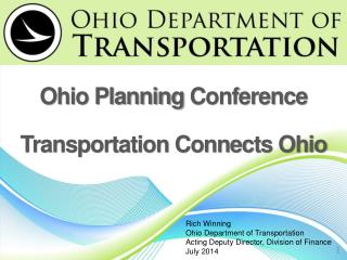 Ohio Planning  Conference Transportation Connects Ohio