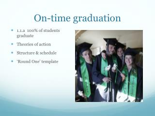 On-time graduation