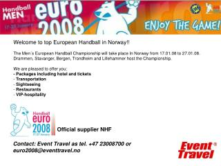 Official supplier NHF