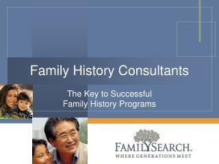 Family History Consultants