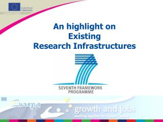 An highlight on  Existing Research Infrastructures