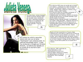 Julieta Venega