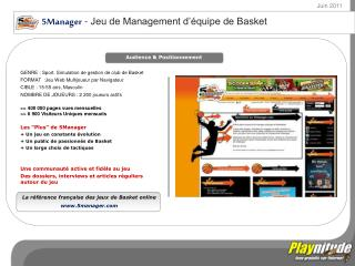 XVmaager  - Jeu de Management d'équipe de Rugby