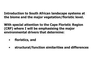 The environmental factors delimiting the savanna biome are complex: