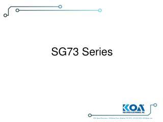 SG73 Series