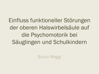 Bruno Maggi