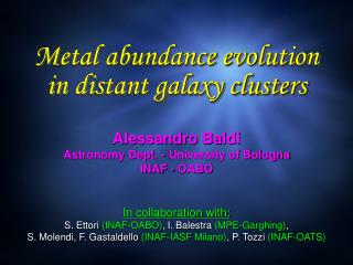 Metal abundance evolution in distant galaxy clusters