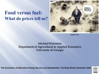 Food versus fuel: What do prices tell us