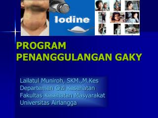 PROGRAM PENANGGULANGAN GAKY