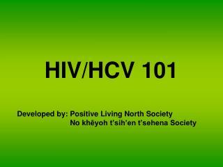HIV/HCV 101