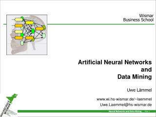 Artificial Neural Networks and Data Mining