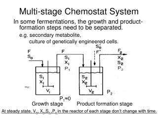 Multi-stage Chemostat System