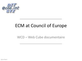 ECM at Council of Europe