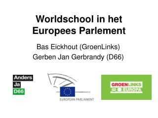 Worldschool in het Europees Parlement