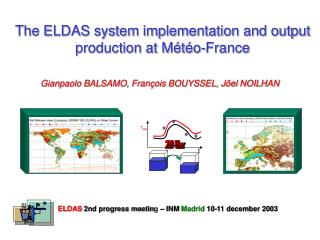 The ELDAS system implementation and output production at Météo-France