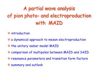 A partial wave analysis of pion photo- and electroproduction with  MAID