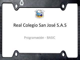 Real Colegio San José S.A.S