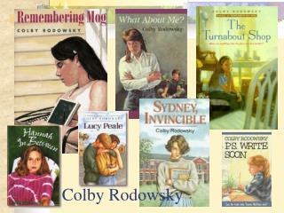 Colby Rodowsky