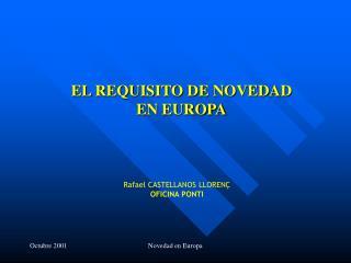 Rafael CASTELLANOS LLORENÇ OFICINA PONTI