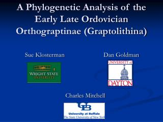 A Phylogenetic Analysis of the Early Late Ordovician Orthograptinae (Graptolithina)