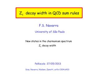 Z c   decay width in QCD sum rules