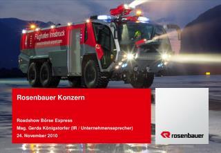 Rosenbauer Konzern