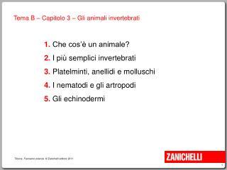 Che cosa caratterizza gli animali?