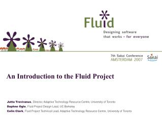 Jutta Treviranus ,  Director, Adaptive Technology Resource Centre, University of Toronto
