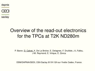 Overview of the read-out electronics for the TPCs at T2K ND280m