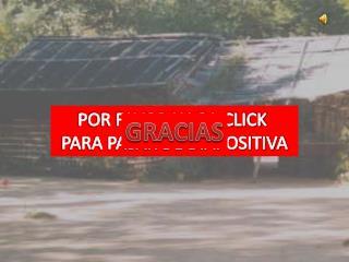 POR FAVOR HAGA CLICK  PARA PASAR DE DIAPOSITIVA