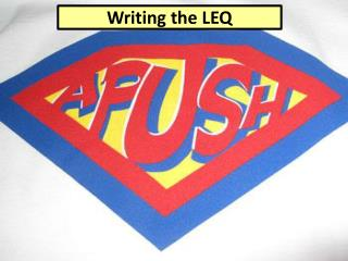 Writing the LEQ
