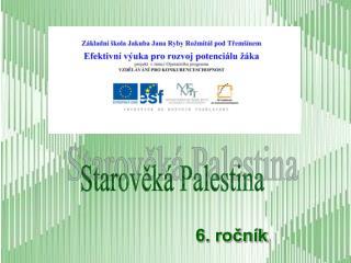 Starov?k� Palestina