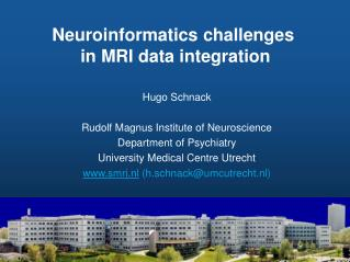 Neuroinformatics challenges  in MRI data integration
