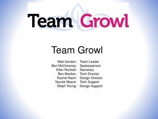Team Growl